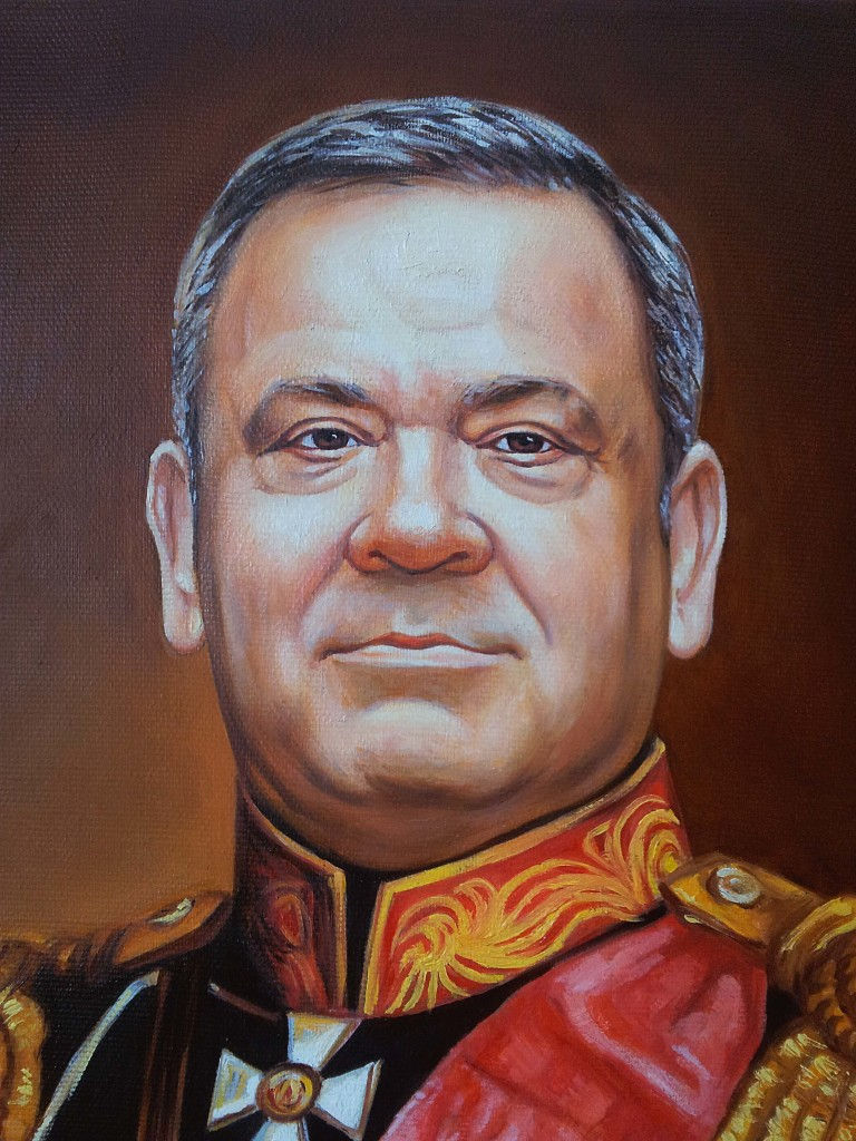 Портрет маслом на холсте в Курске