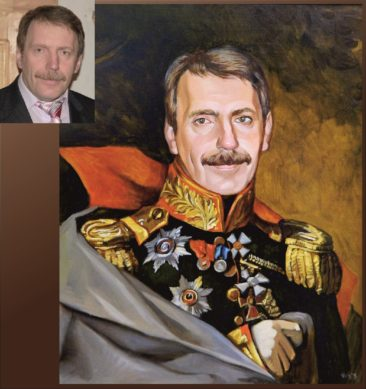 Настоящий портрет маслом на заказ в Курске…
