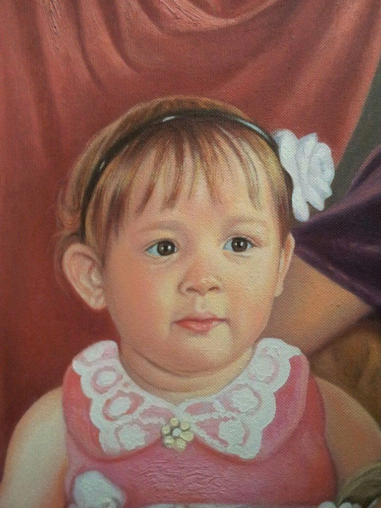 Портрет маслом семейный Курск