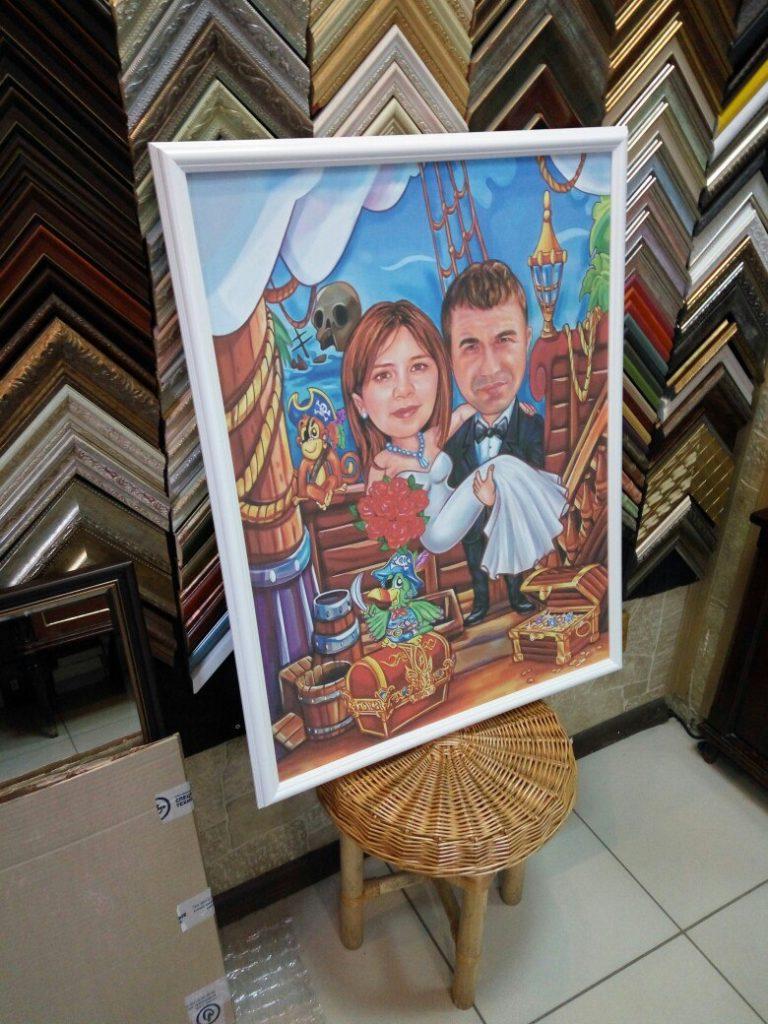 портрет шарж на заказ в Курске
