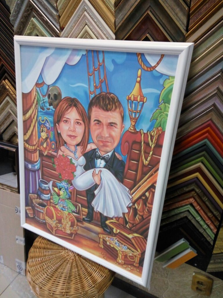 шарж по фото на заказ в Курске