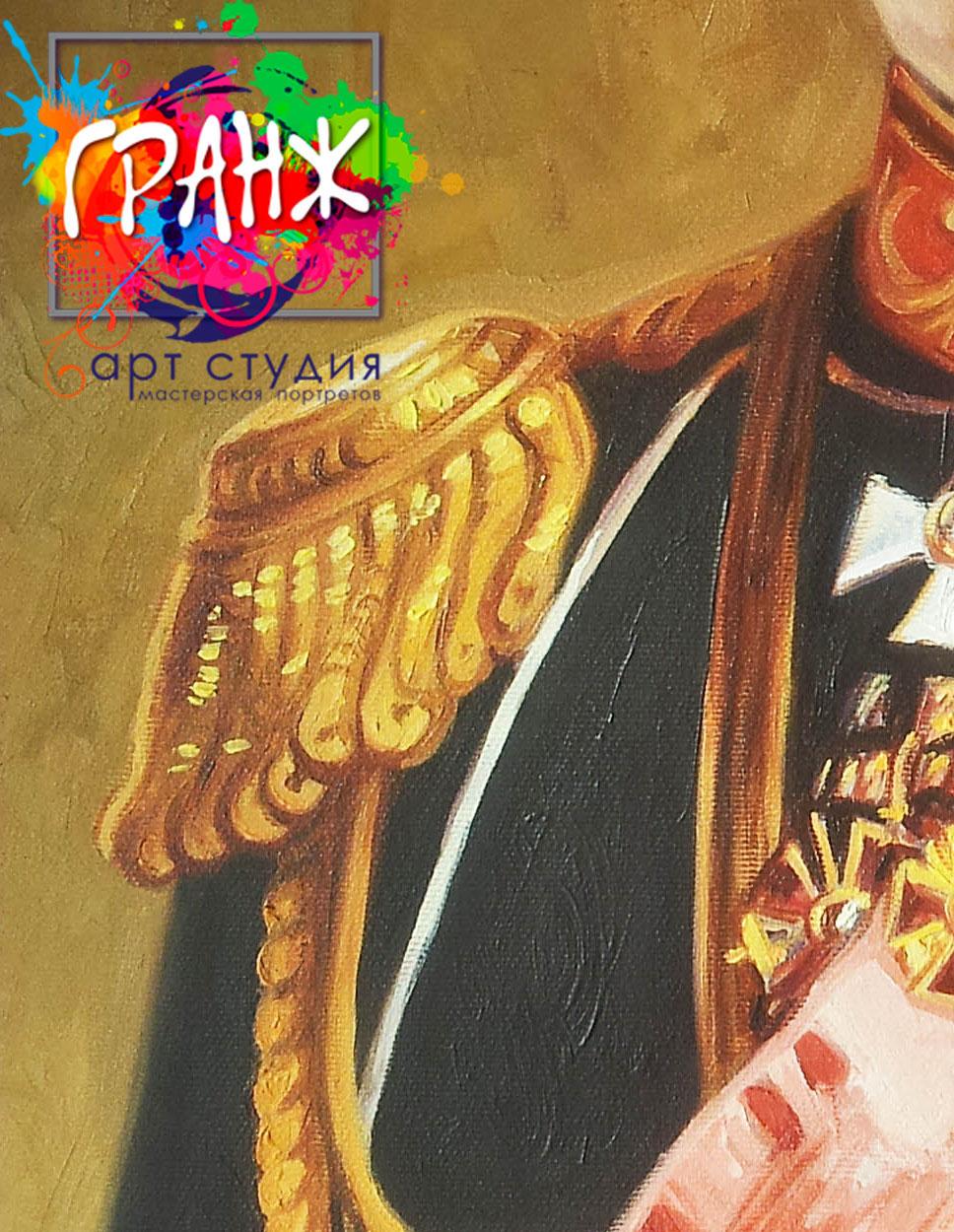 Заказать портрет маслом по фотографии в Курске