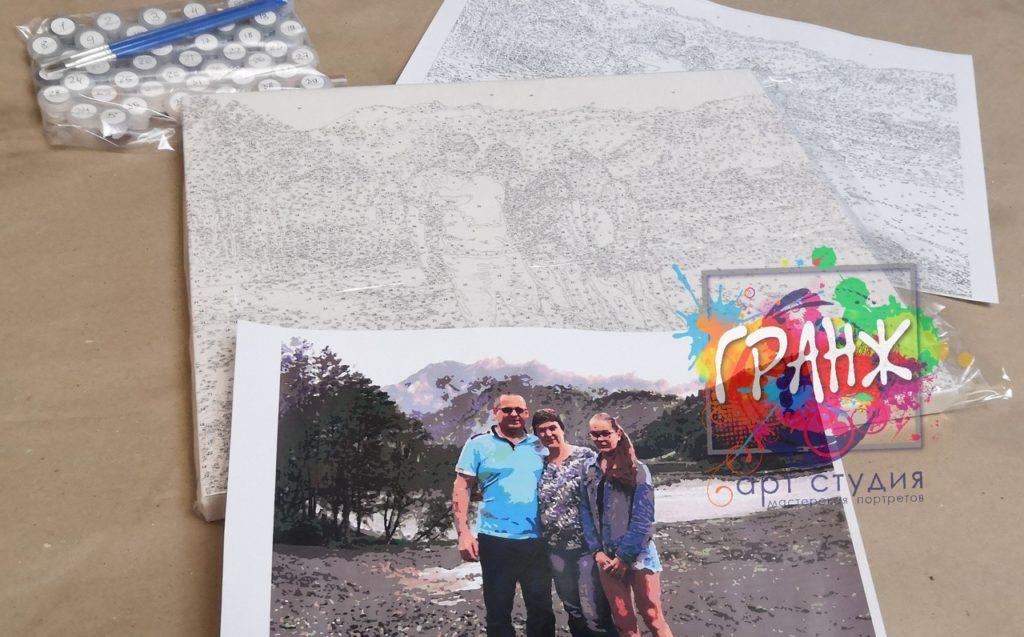 картин по номерам на холсте по фото Курск